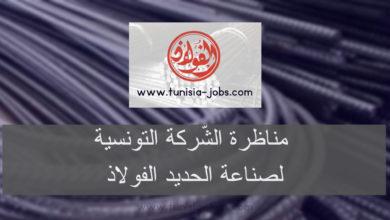 """صورة الشركة التونسية لصناعة الحديد """" الفولاذ"""" تنتدب"""