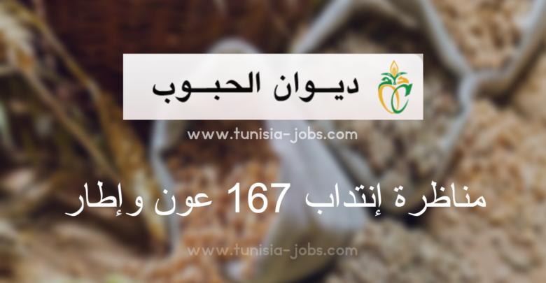 Office des Céréales Tunisie recrutement