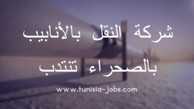 Photo of شركة  النقل  بالأنابيب بالصحراء تنتدب 47 عون