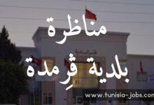Photo of مناظرة بلدية ڨرِمدة لإنتداب أعوان