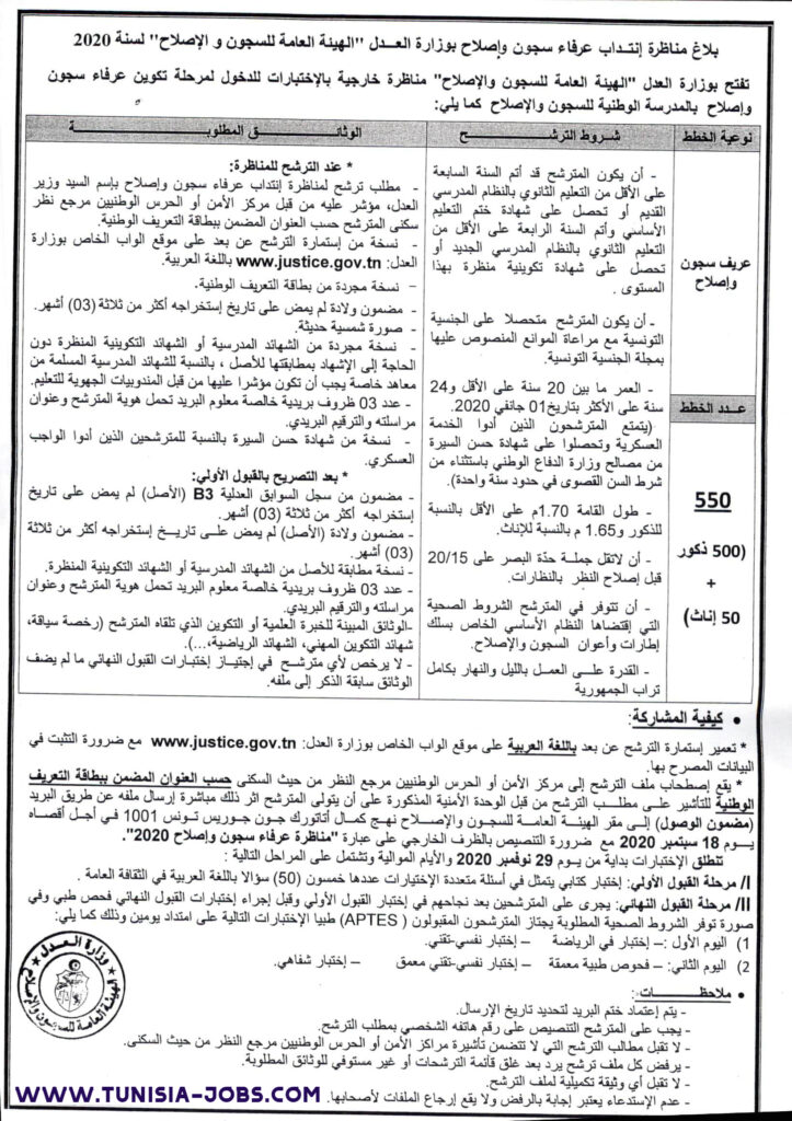 تحتوي هذه الصورة على سمة alt فارغة; اسم الملف هو concours-DGPR-sousofficier2020-www.tunisia-jobs.com_-723x1024.jpg